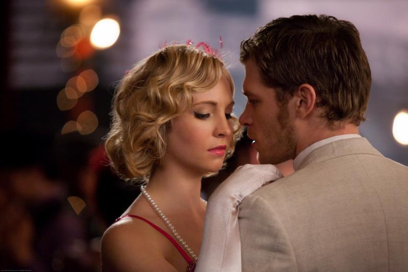 Vampire Diaries Hot Shots: Who's Cozying Up to Whom at the 1920s Dance? [UPDATED]