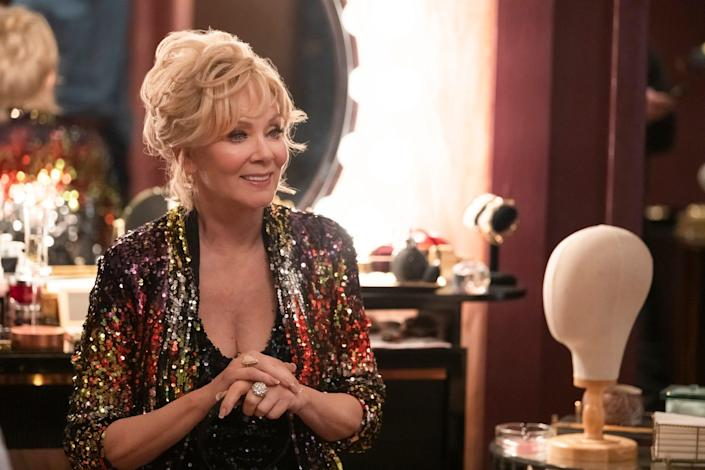 """Jean Smart plays a successful comedian in need of a reset in the HBO Max comedy """"Hacks."""""""