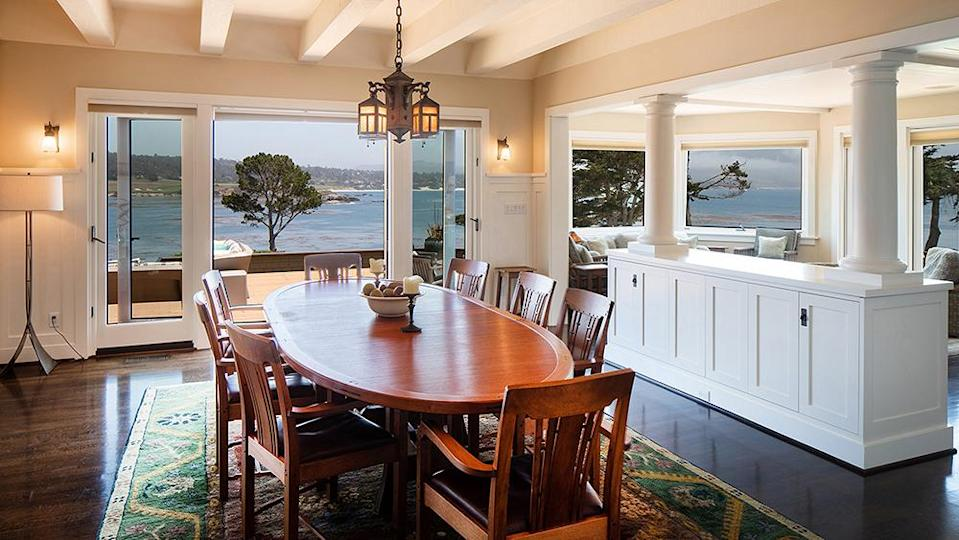 The dining area. - Credit: Photo: Sherman Chu/Sotheby's International Realty