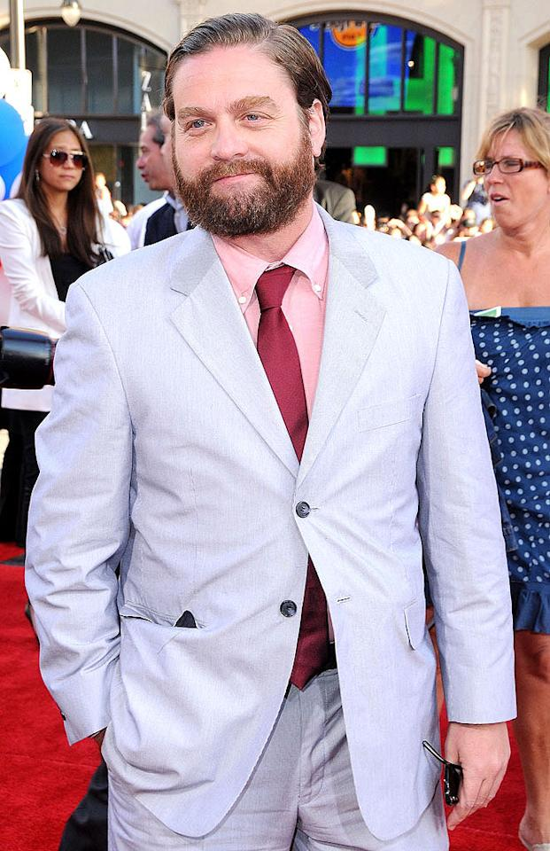 Zach Galifianakis turns 43 on October 1.