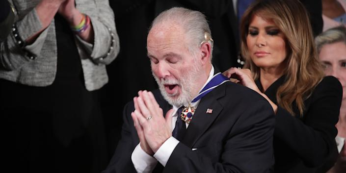 rush limbaugh presidential medal of freedom