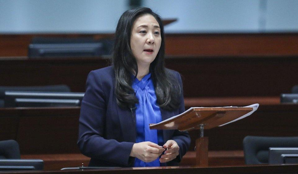 DAB lawmaker Elizabeth Quat has called Falun Gong a 'fake organisation' that should be 'immediately outlawed'. Photo: Sam Tsang