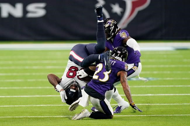 Run defence breaks down again for Texans, who fall to 0-2