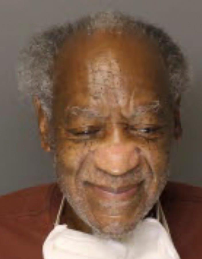 Bill Cosby in prison on Sept. 4, 2020, in photo provided by the Pennsylvania Department of Corrections.