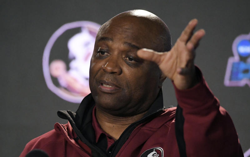 Leonard Hamilton gets angry in post-game interview 5b18d9a00