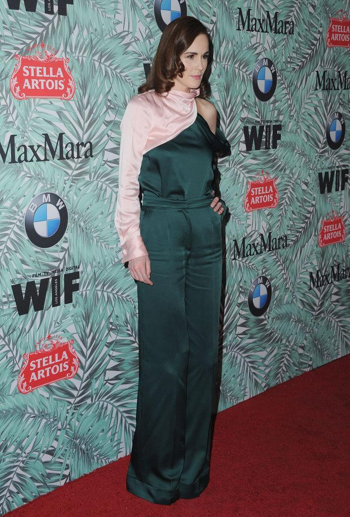 <p>Michelle Dockery in Monse. (Photo: Getty Images) </p>