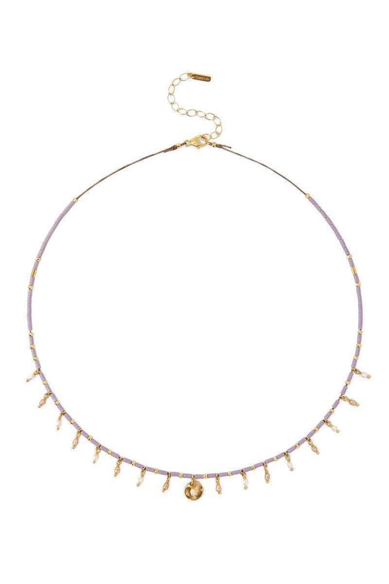 "<p><strong>Chan Luu</strong></p><p>chanluu.com</p><p><strong>$95.00</strong></p><p><a href=""https://chanluu.com/products/mauve-mix-seed-bead-necklace"" rel=""nofollow noopener"" target=""_blank"" data-ylk=""slk:SHOP IT"" class=""link rapid-noclick-resp"">SHOP IT</a></p><p>These champagne-colored beads make this necklace a neutral piece. </p>"