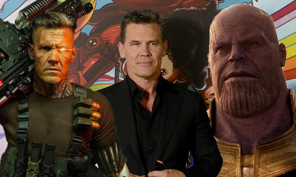 Brolin's duel Marvel roles have made him a busy boy this summer (Fox/Disney)