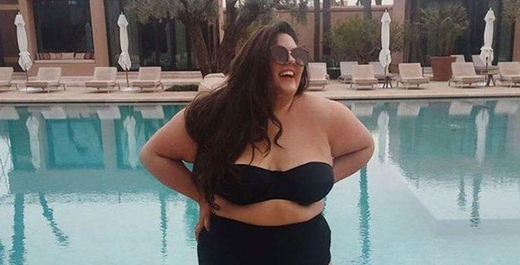 Callie Thorpe's bikini photo featured in British Vogue.