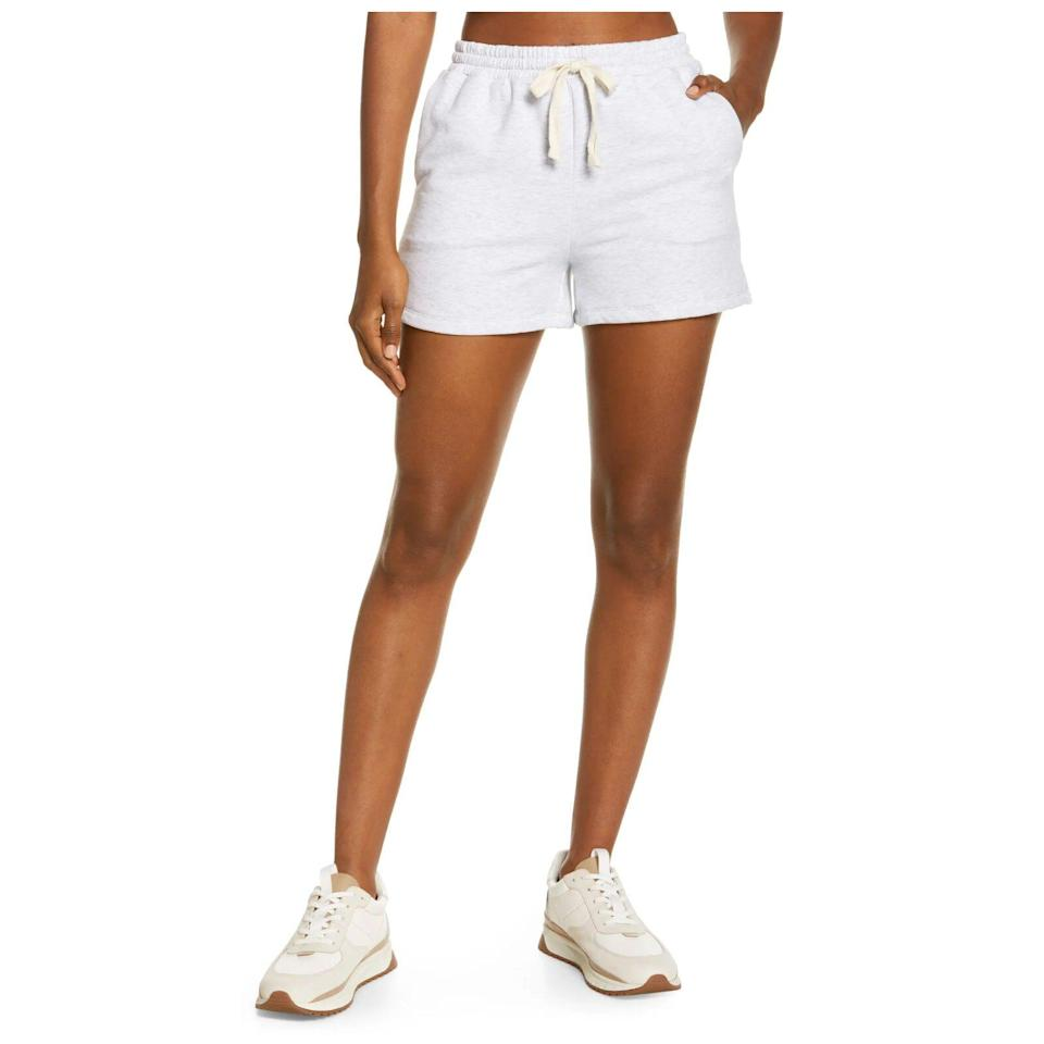 Madewell Superbrushed Easygoing Sweat Shorts