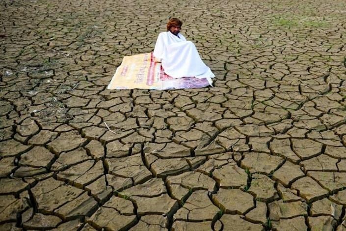 Climate change is predicted to increase the intensity and duration of droughts (AFP Photo/SANJAY KANOJIA )