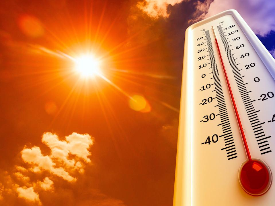 A thermometer gauging the heat of the sun (Shutterstock)