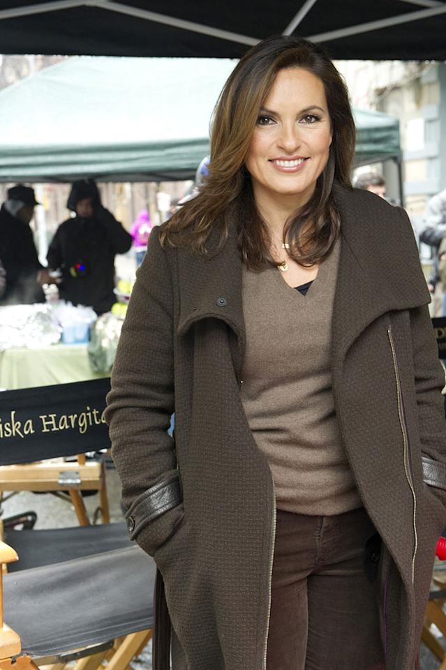 """<strong>Mariska Hargitay (""""Law & Order: SVU""""), 48</strong><br><br>  As the daughter of '50s sex symbol Jayne Mansfield and former Mr. Universe Mickey Hargitay, Mariska Hargitay was destined to be gorgeous. Still, we're amazed by just how well the 48-year-old has aged. Since starting her run as Detective Olivia Benson on """"<span>SVU""""</span> 13 years ago, she has continued to look every bit the beauty queen. Honestly, it's a crime."""