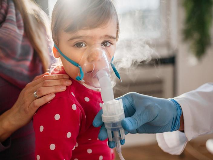 <p>Children are at risk of preventable asthma deaths in England, experts have warned</p> (Getty Images)