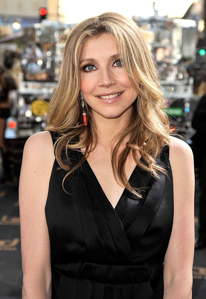 "<a href=""http://movies.yahoo.com/movie/contributor/1800188817"">Sarah Chalke</a> at the Los Angeles premiere of <a href=""http://movies.yahoo.com/movie/1809922951/info"">Bruno</a> - 06/25/2009"