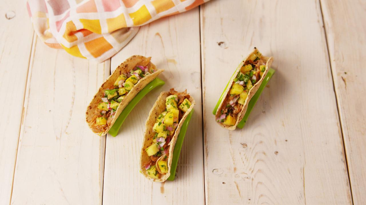 "<p>Get a serious flavor boost from coffee.</p><p><span>Get the recipe from <a rel=""nofollow"" href=""http://www.delish.com/cooking/recipe-ideas/recipes/a53857/coffee-marinated-bbq-chicken-tacos-recipe/"">Delish</a>.</span></p>"