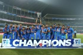 India slays Bangladesh to win series 2-1