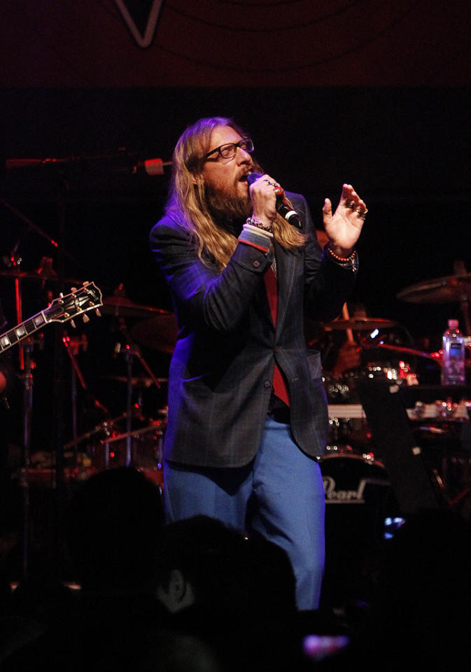 "Nicholas David at a special live performance event celebrating the Top 12 artists of ""The Voice"" on November 8, 2012 at the House of Blues in Hollywood, CA."