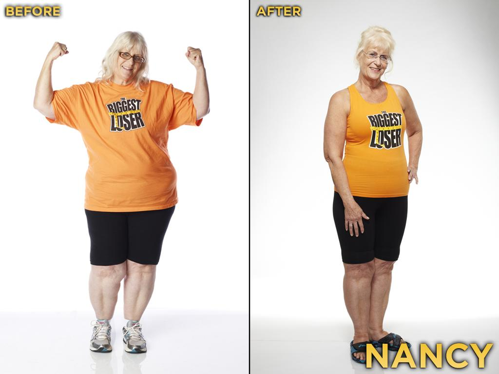 Nancy is Cassandra's grandmother, and you have to applaud a 63-year-old woman for participating in this show. She, along with Mark, was anti-drama, and we enjoyed watching her on this show, especially when she tried to sass Dolvett. She started the competition at 217 pounds, weighed 161 pounds at the finale, and thus lost 25.81% during the season.