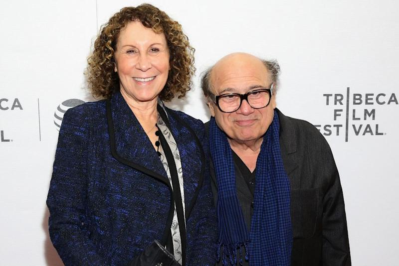 Rhea Perlman and Danny DeVito in 2016. | Robin Marchant/Getty