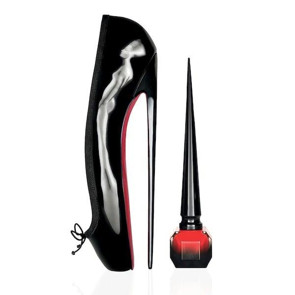 <p>Is there a more stunning bottle of nail polish than this <span>Christian Louboutin Rouge Louboutin Nail Polish</span> ($50)? It seems unlikely . . . and the rich red shade on the inside is just as standout, too. </p>
