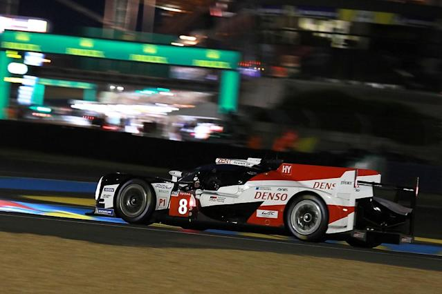 Kazuki Nakajima took provisional pole aboard the #8 Toyota TS050 HYBRID he shares with Fernando Alonso and Sebastien Buemi in Wednesday's qualifying for the 2018 Le Mans 24 Hours
