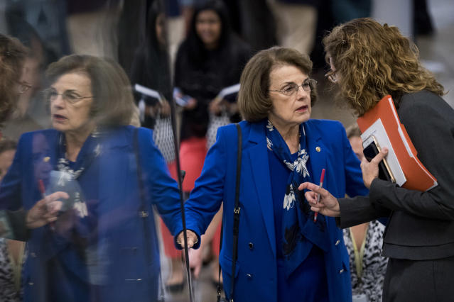 Sen. Dianne Feinstein (Photo: Bill Clark/CQ Roll Call)