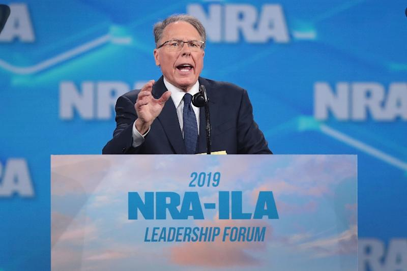 Trump accuses NY state of trying to 'take down' NRA