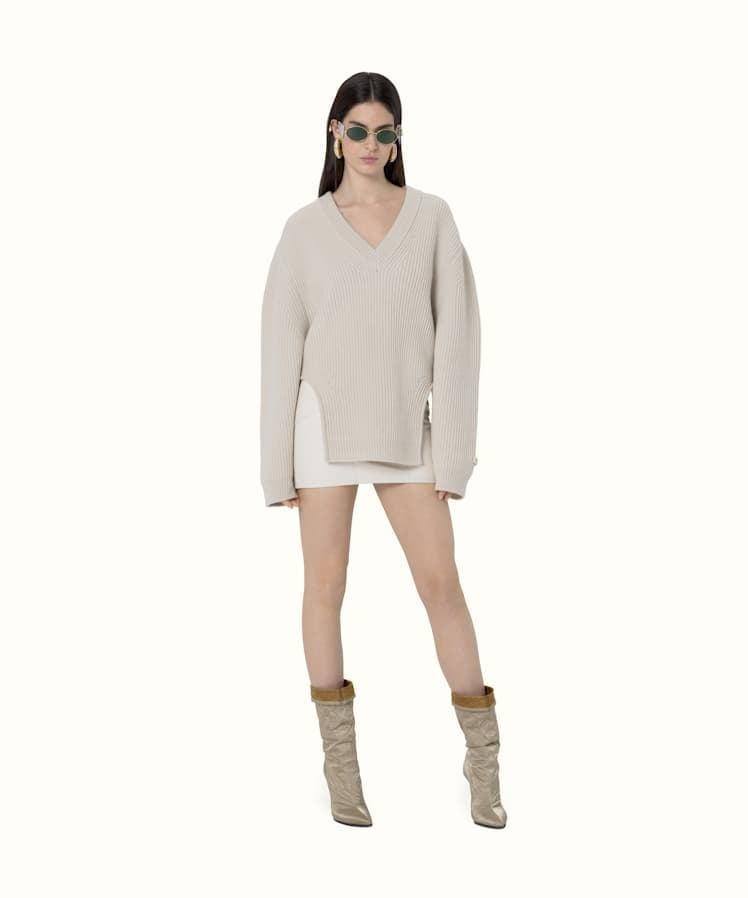 "<p>""This <span>Fenty Pullover With Rounded Cutouts</span> ($860) is so effortlessly cool. I've added it to my wish list and am already thinking of the million different ways I can style it."" - IY</p>"