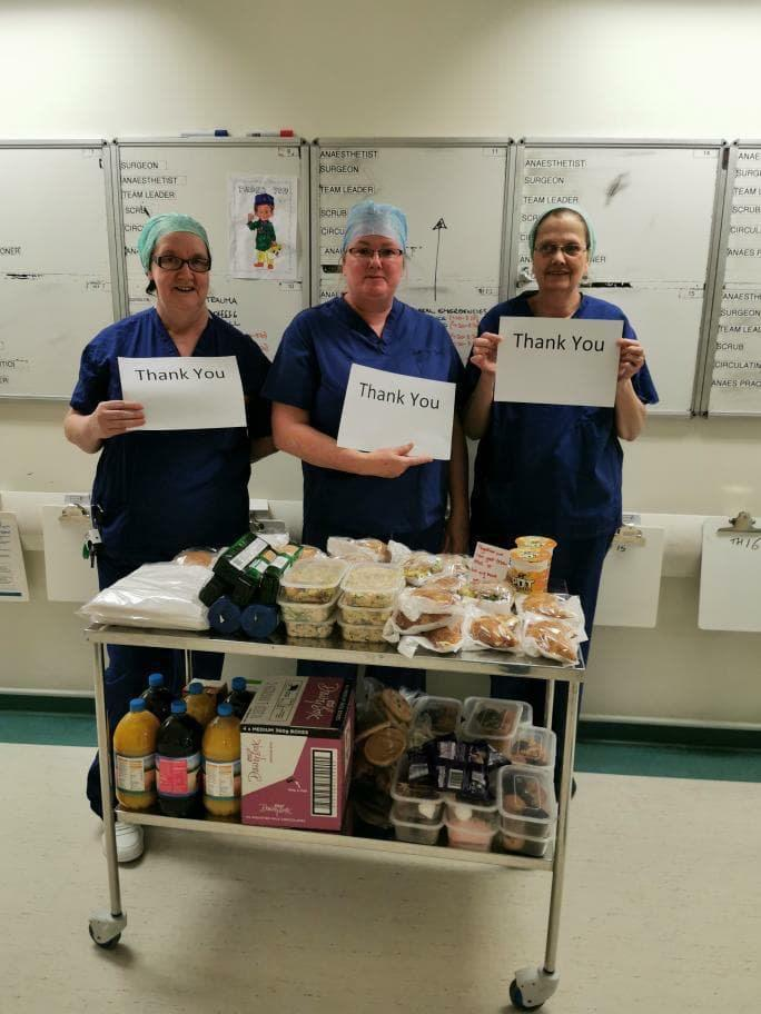 The Barn Kitchen has been delivering the food to hospitals in Warwick, Coventry and Nuneaton. (Picture: The Barn Kitchen)