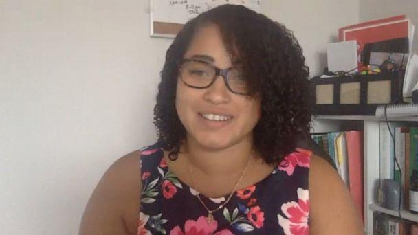 PHOTO: Dibette Lopez is a language arts teacher in Gwinnett County, Georgia. She says she's concerned about returning to school due to her type 1 diabetes and multigenerational household. (ABC News)