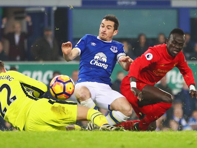 Sadio Mane scored the late winner for Liverpool at Goodison this season: Getty