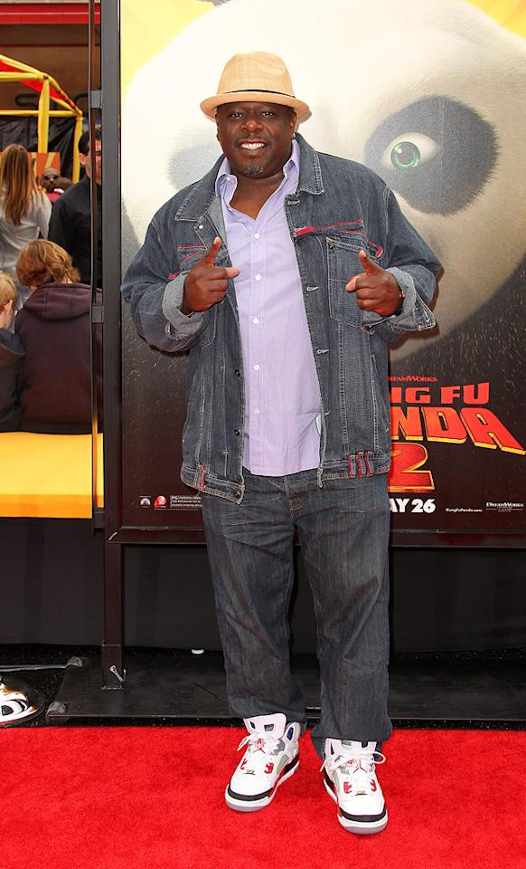 "<a href=""http://movies.yahoo.com/movie/contributor/1800314117"">Cedric the Entertainer</a> attends the Los Angeles premiere of <a href=""http://movies.yahoo.com/movie/1810090593/info"">Kung Fu Panda 2</a> on May 22, 2011."