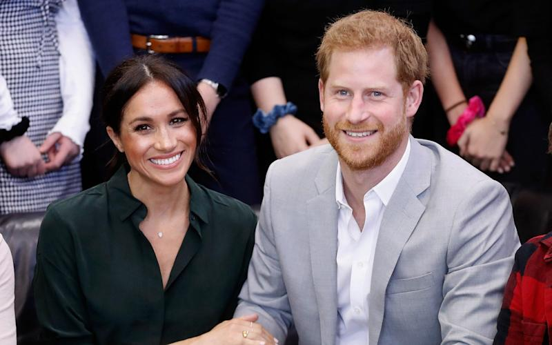 The Duke and Duchess of Sussex - Getty