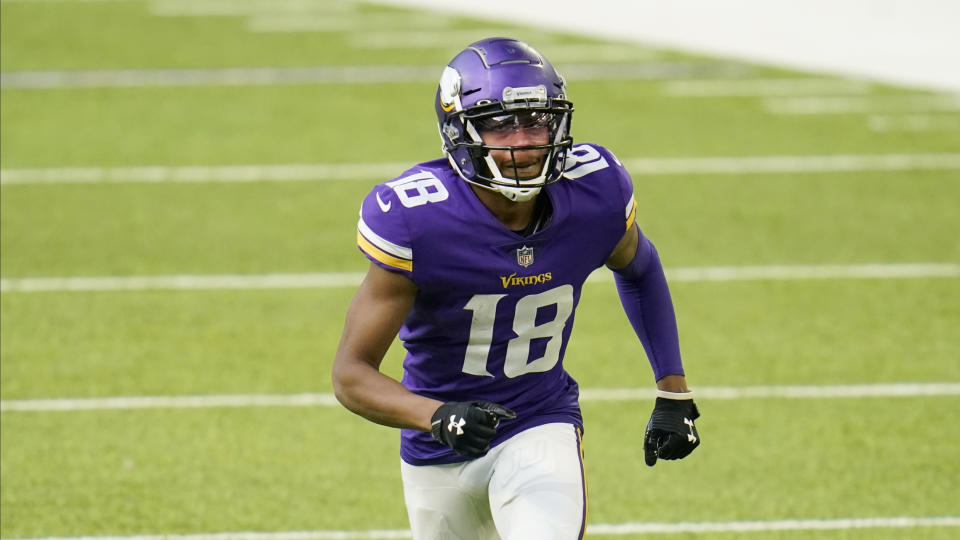 Minnesota Vikings wide receiver Justin Jefferson