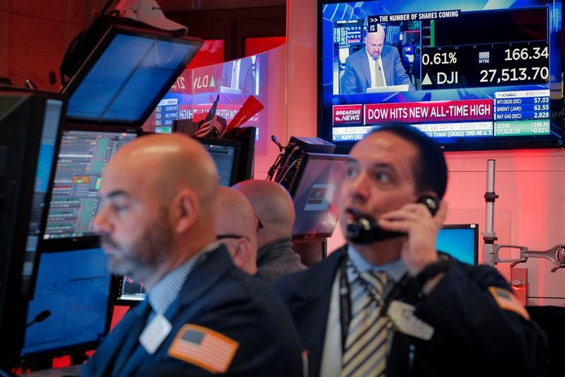 Dow Rockets to Record High as Stock Market Rally Continues