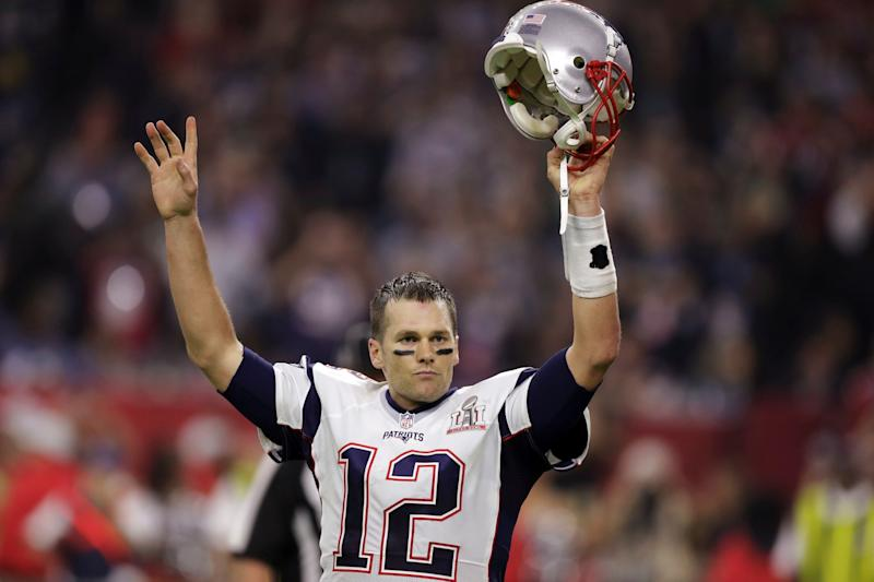 Tom Brady's longtime helmet of choice is now outlawed in NFL