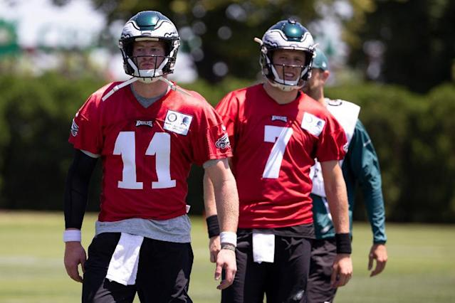 How Will The 2020 Eagles Handle Their QB Backup Plan?