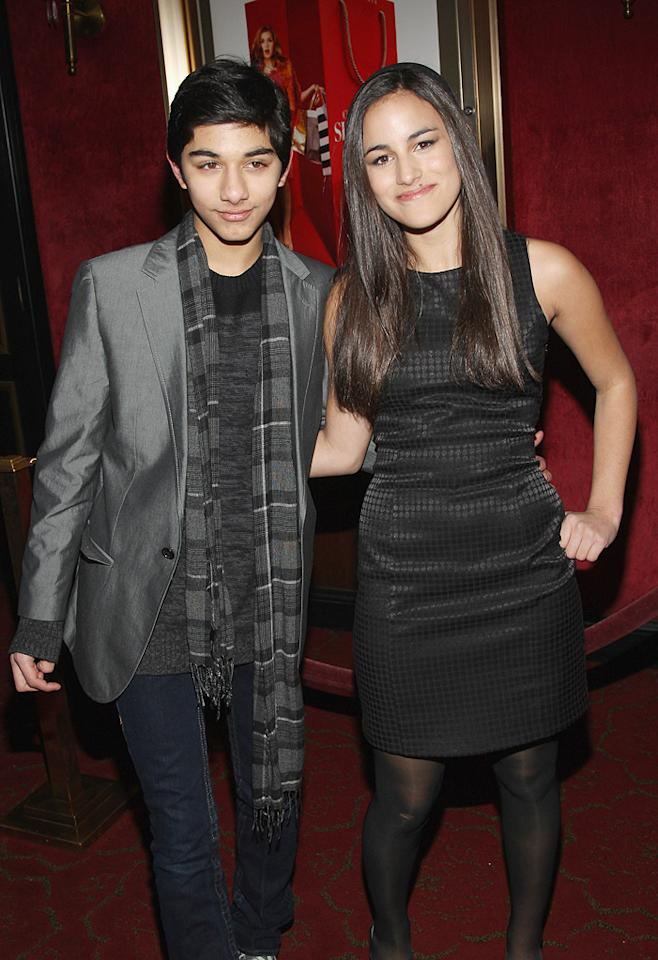 """Mark Indelicato and Hannah Ammon at the New York premiere of <a href=""""http://movies.yahoo.com/movie/1809973783/info"""">Confessions of a Shopaholic</a> - 02/05/2009"""