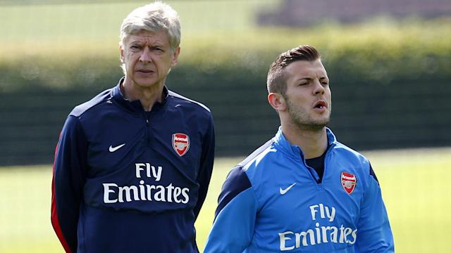 The Gunners boss will stand down at the end of the 2017-18 campaign, with the England midfielder paying tribute to his career on social media