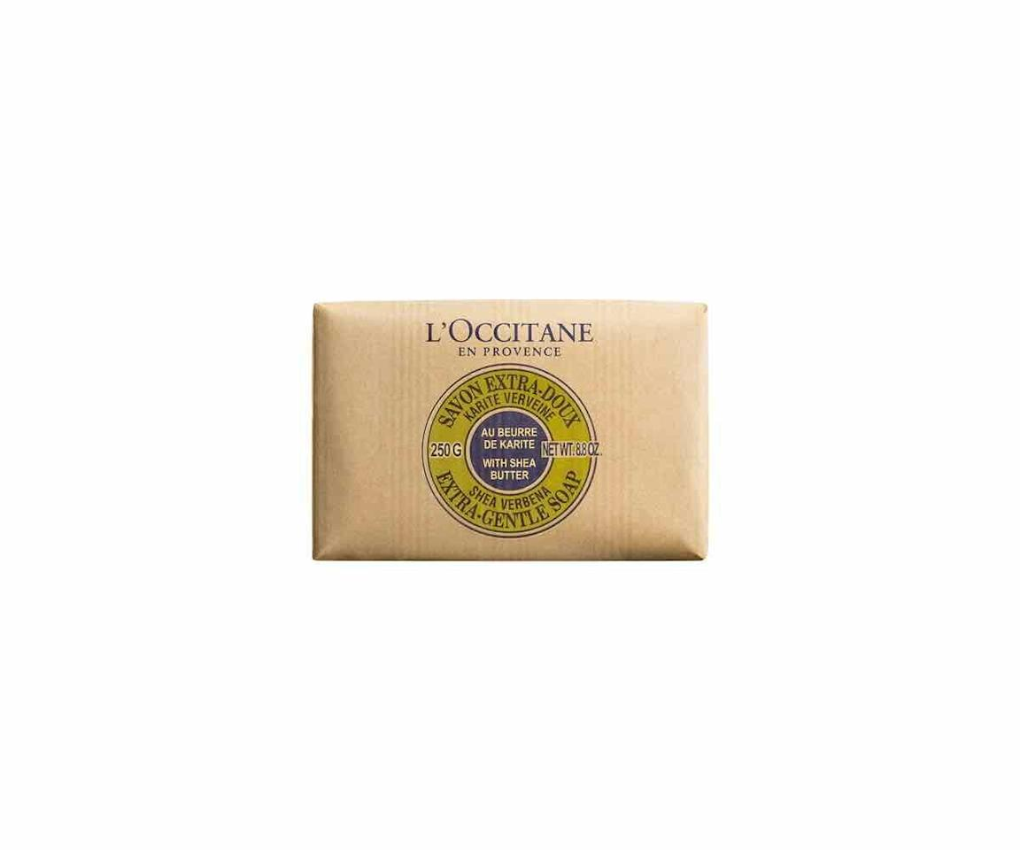 """<p><strong>L'Occitane</strong></p><p>amazon.com</p><p><strong>$10.00</strong></p><p><a href=""""https://www.amazon.com/dp/B001G60E3K?tag=syn-yahoo-20&ascsubtag=%5Bartid%7C10072.g.30811457%5Bsrc%7Cyahoo-us"""" target=""""_blank"""">SHOP NOW</a></p><p>L'Occitane offers luxury soap that smells good and is gentle on sensitive skin at more moderate price points, making the brand a perennial favorite.</p>"""