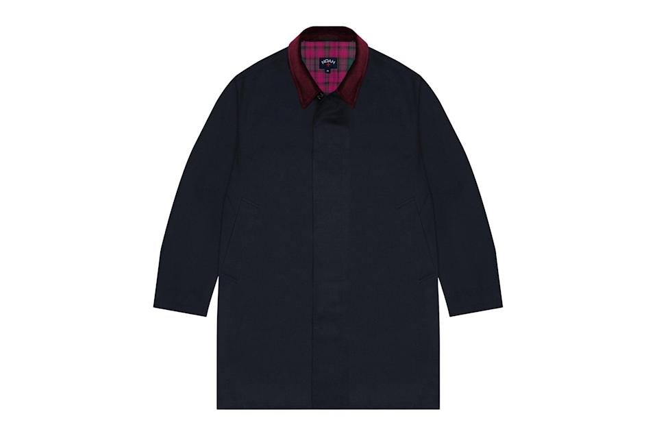 """Worried about imminent spring showers? Cop a proper trench. The neo-prep masters at Noah make theirs with a fast-drying outer membrane and a mean corduroy collar.<br> <br> <em>Noah typhoon twill rain trench</em> $848, Noah. <a href=""""https://noahny.com/products/typhoon-twill-rain-trench?variant=39270353600651"""" rel=""""nofollow noopener"""" target=""""_blank"""" data-ylk=""""slk:Get it now!"""" class=""""link rapid-noclick-resp"""">Get it now!</a>"""