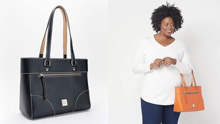 This classic tote from Dooney and Bourke is on sale for a huge discount right now.