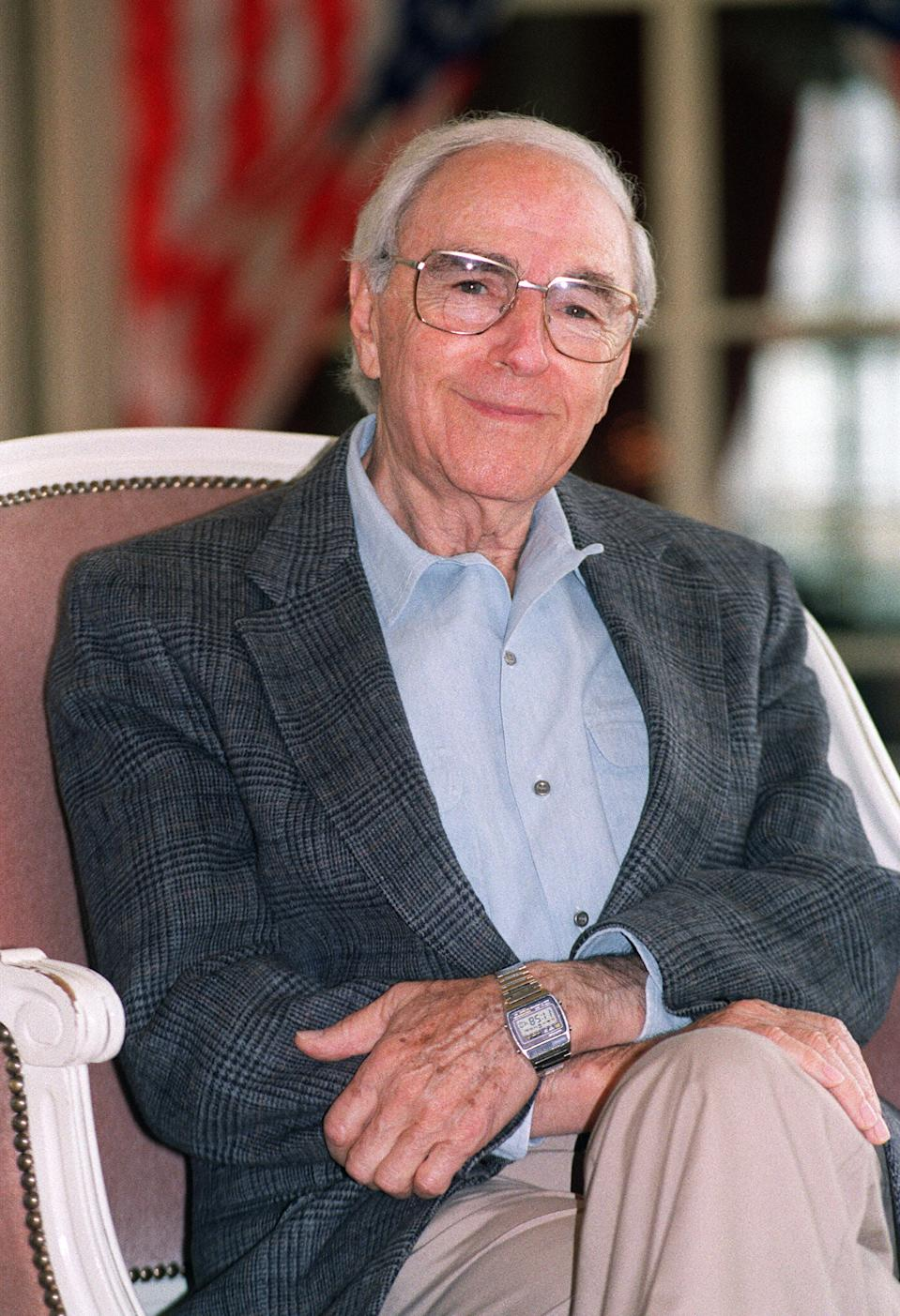 Deauville, FRANCE:  (FILES) File portrait taken 08 September 1993 in Deauville, western France, of US Director Richard Fleischer. AFP PHOTO MYCHELE DANIAU  (Photo credit should read MYCHELE DANIAU/AFP via Getty Images)