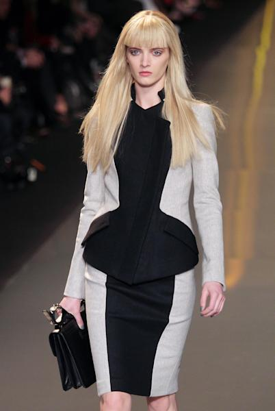 Daria Strokous at the Elie Saab Fall 2012 show