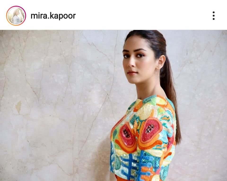 Enjoying star status since 2015, Mira gets to address sizeable audience bodies on issues like feminism and motherhood, often makes insensitive tone-deaf remarks and gets away easily. Her presence is coveted on talk shows otherwise notorious for slandering raw talent. Invited to inaugurate charities, endorse beauty brands of repute, the girl from Delhi has done it all. We write about her fashion choices; you gorge on them. But why is Mira even relevant? One can't really enlist many of her achievements excluding being a star wife and mother of two star-kids.