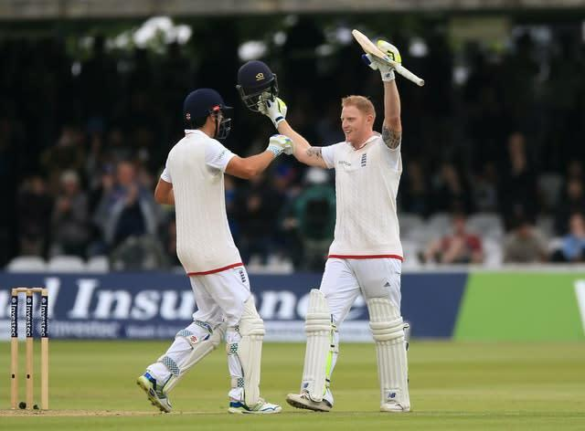 Stokes, right, smashed an 85-ball ton at Lord's in 2015 (Nigel French/PA)