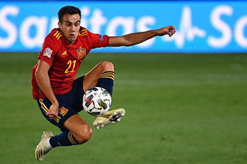 Sergio Reguilon, full-back for Spain and Real Madrid (AFP via Getty Images)