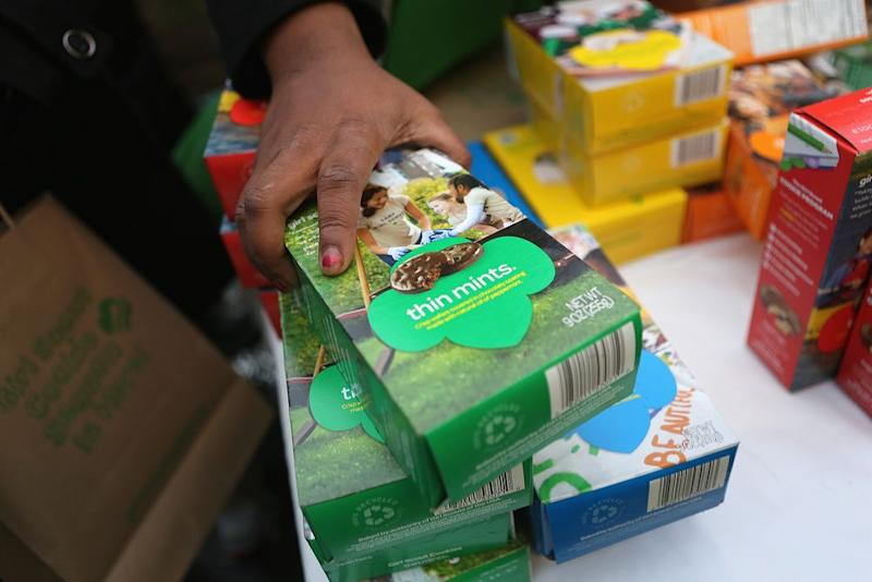 Girl Scout cookie season kicks off