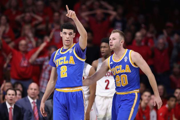 Escaping Arizona victorious, UCLA officially enters the top seed conversation. (Getty)